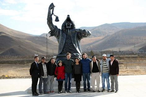<p>FAILE has unveiled a new sculpture that has been designed to speak to the future of Mongolia. Entitled, 'Wolf Within', the 5m fiberglass and steel creation was unveiled October 12th at National Garden Park, a new 1650 acre project in the heart of Ulaanbaatar, Mongolia. 'Wolf Within' is created in conjunction with the global Tiger Translate initiative that aims to uncover the best emerging creative talents across Asia and provide them with opportunities to collaborate with their more established Western counterparts. It represents the first US-Mongolian collaboration of this nature.</p>