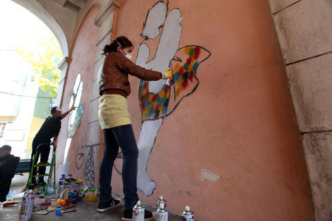 <p>Mural collaboration.</p>