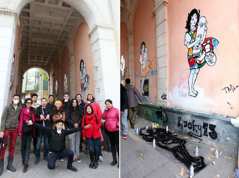 <p>Mural collaboration with Temuulen, Soniya, Telmen and Roaad Crew.</p>