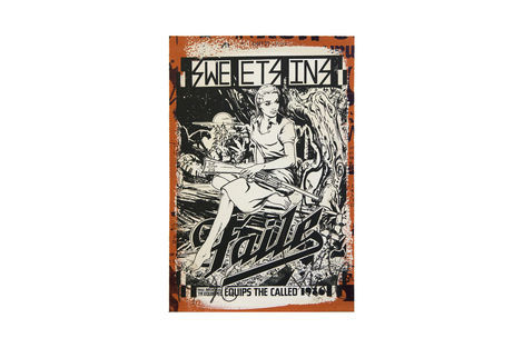 <p>Sweet Sins Varied Edtiion of 250</p>  <p>Dimensions: 12.5 x 19 Inches Acrylic, Silkscreen Ink on Lenox 100 Paper Signed, Stamped and Numbered. Faile 2013</p>