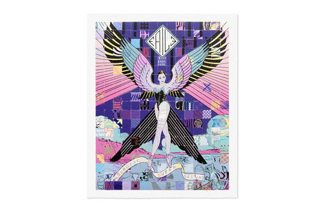 <p>Surgere Supra Bestias NYC<br/> 27 Color Silkscreen Print Ed. 500<br/> Dimensions: 34 x 42 Inches<br/> 310 gsm Coventry Rag (Deckle Edge)<br/> Signed and Dated Faile 2013</p>