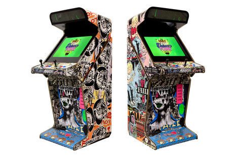 <p>FAILE & BAST Arcade Machine</p>