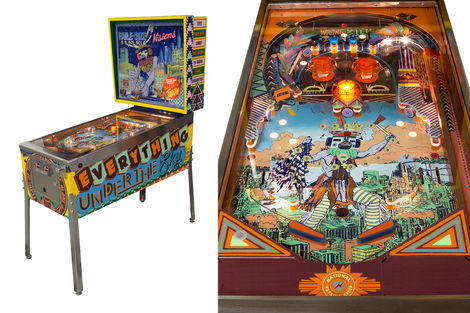<p>Vision Under the Sky<br/> Pinball Machine</p>